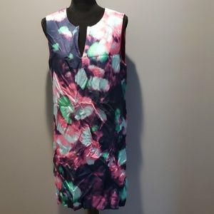 Kate Spade tie dye inspired dress